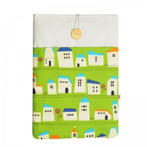 Macbook Air 13 Sleeve Green House