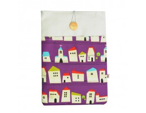 Macbook Air 13 Sleeve Purple House