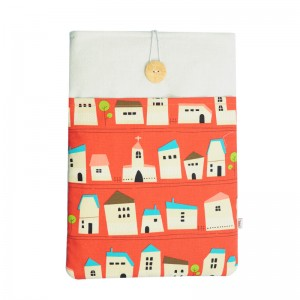 Macbook Air 13 Sleeve Red House